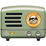 Altavoz Portátil Inalámbrico MUZEN OTR MATEL Radio Inalámbrico 5 Vatios con Funciones FM/AUX Conexión Inalámbraca Vintage Speaker Altavoz Bluetooth para Hogar Oficina y Exterior