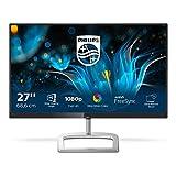 Philips Monitores 276E9QJAB/00 - Pantalla para PC de 27' FHD (resolución 1920 x 1080 píxeles, Flicker Free, modo LowBlue, altavoces incorporados, FreeSync, HDMI, Displayport)