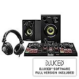 Hercules DJLearning Kit: Controladora de DJ USB de 2 decks DJControl Inpulse 200 + Auriculares HDP DJ45 + Altavoces de monitorización DJMonitor 32