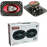 2 BOSS Audio Systems CH4630 CH 4630 Altavoces triaxiales de Tres vías 4 x 6 10 x 15 cm 100 x 150 mm 125 vatios rms 250 vatios máx predisposición al Coche, por Pareja