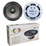2 WOOFER SNIPER Sound SSMCB-6.5 Altavoces Blancos 16,50 cm 165 mm 6,5' diámetro 60 vatios rms 100 vatios MAX impedancia 4 ohmios 95 db spl Coche, por par