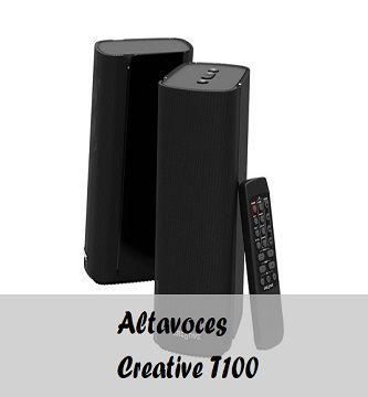 altavoces Creative t100