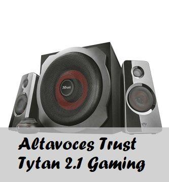 altavoces trust tytan 2.1 Gaming