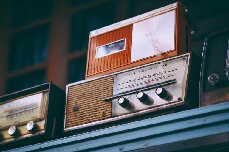 altavoces vintage