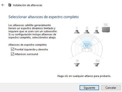 configurar sonido 5.1 en windows 10