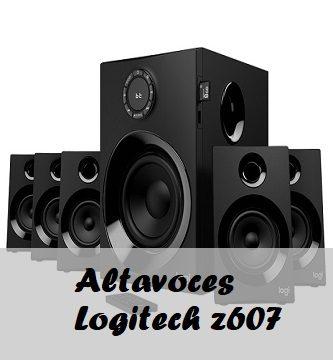 Altavoces logitech z607