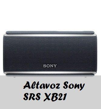 altavoz sony srs xb21